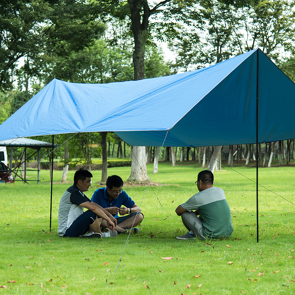 Naturehike420D Silver-Coated Tarps, large canopy awnings.Tents, awnings free shipping