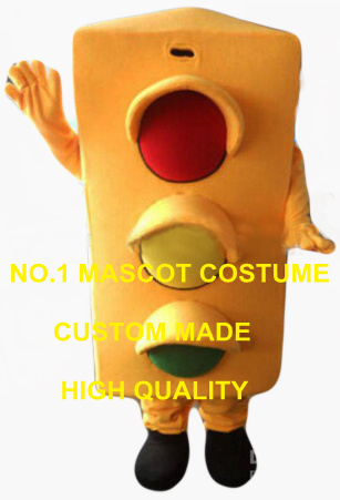 high quality traffic light mascot costume adult size cartoon traffic safe theme anime cosplay costumes carnival fancy dress 2554