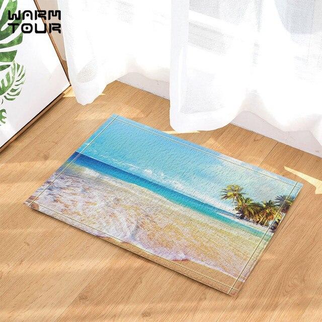 Warm Tour Sea Water Floating Anti Slip Door Mat Home Decor Indoor Outdoor  Entrance Doormat