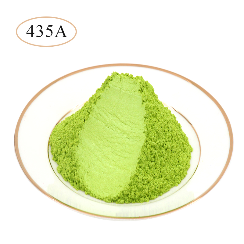 10g 50g Type 435A Pigment Pearl Powder Healthy Natural Mineral Mica Powder DIY Dye Colorant,use For Soap Automotive Art Crafts