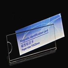 210 Pcs Acryl Naam Tag Badges Card Id Houders Student Of Werk Werknemer Kaart Met Pin Of Magneet