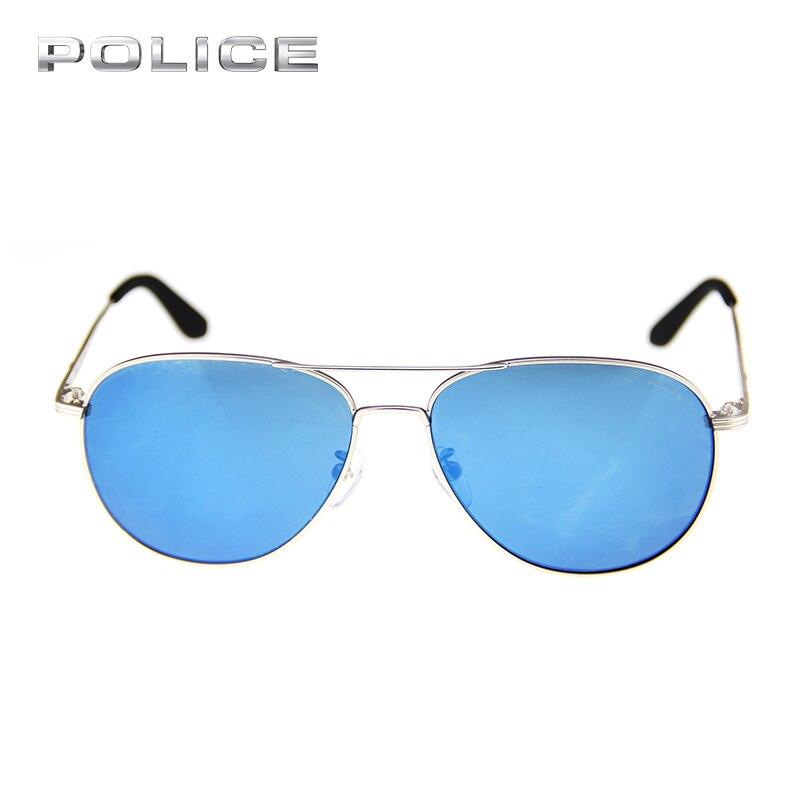 b68689854de POLICE UV400 Aviator Metal Frame Sunglasses Women Men Brand Designer Vintage  Luxury Pilot Driver Sport Sunglasses SPL115G-in Sunglasses from Apparel ...