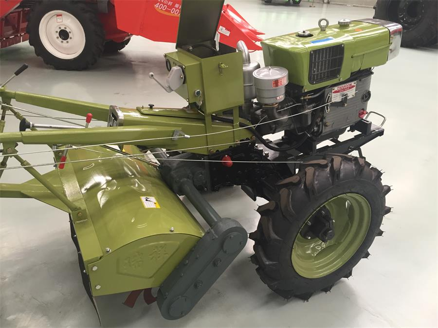 Hot sale Walking Tractor With Diesel Engine Hand Tractor Large Stock ...