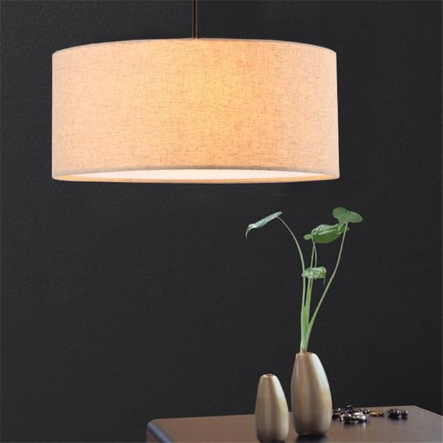 Vintage Hanglampen Lampen Landelijke Europese Stof Lampenkap ...
