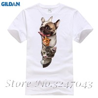 Pug Wearing Glasses Cute Animal Men T-shirt Vintage Style Short Sleeve Tops Pug Life Retro Design Novelty Tee