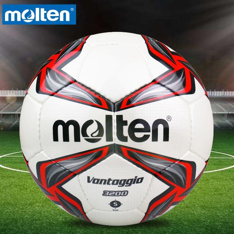 Оригинальный Molten F5V3200 Размер 5 полиуретановый мяч Professional футбольные ворота мячи футбольный мяч balon bola de futbol
