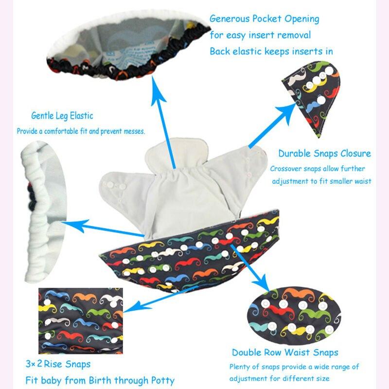 Prémium gépnyomtatás zsebvédő pelenkázó éjszakai - Pelenkák és WC képzés - Fénykép 5