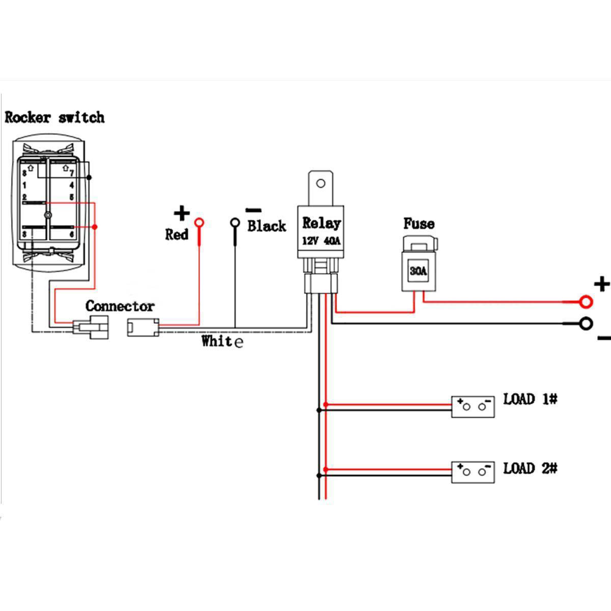 Relay Wiring Harness | Wiring Diagram on