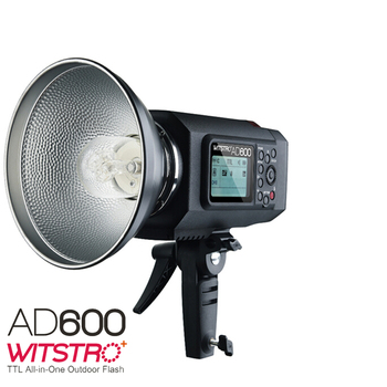 2017 Godox Wistro AD600 TTL All-in-One Powerful Outdoor Flash with 2.4G X System Build-in 8700mAh Li-on Battery