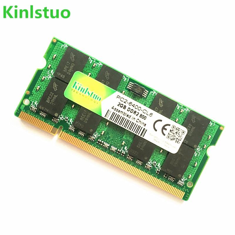 Kinlstuo Brand New Sodimm DDR2 667 МГц / 800 МГц / 533 МГц 1Гб 2Гб Ноутбук үшін RAM Жад / Өмірлік кепілдік / Тегін жеткізу !!!