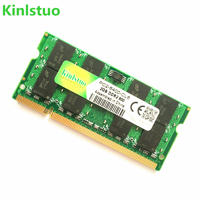 Kinlstuo מותג חדש Sodimm DDR2 667Mhz / 800Mhz / 533Mhz 1GB 2GB 4GB עבור מחשב נייד זיכרון RAM / אחריות Lifetime / משלוח חינם !!!