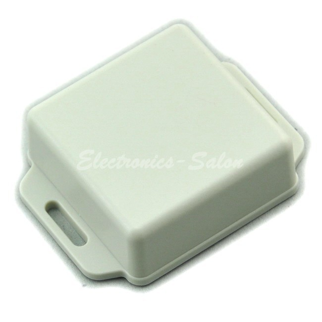 Small Wall-mounting Plastic Enclosure Box Case, White,51x51x20mm, HIGH QUALITY.