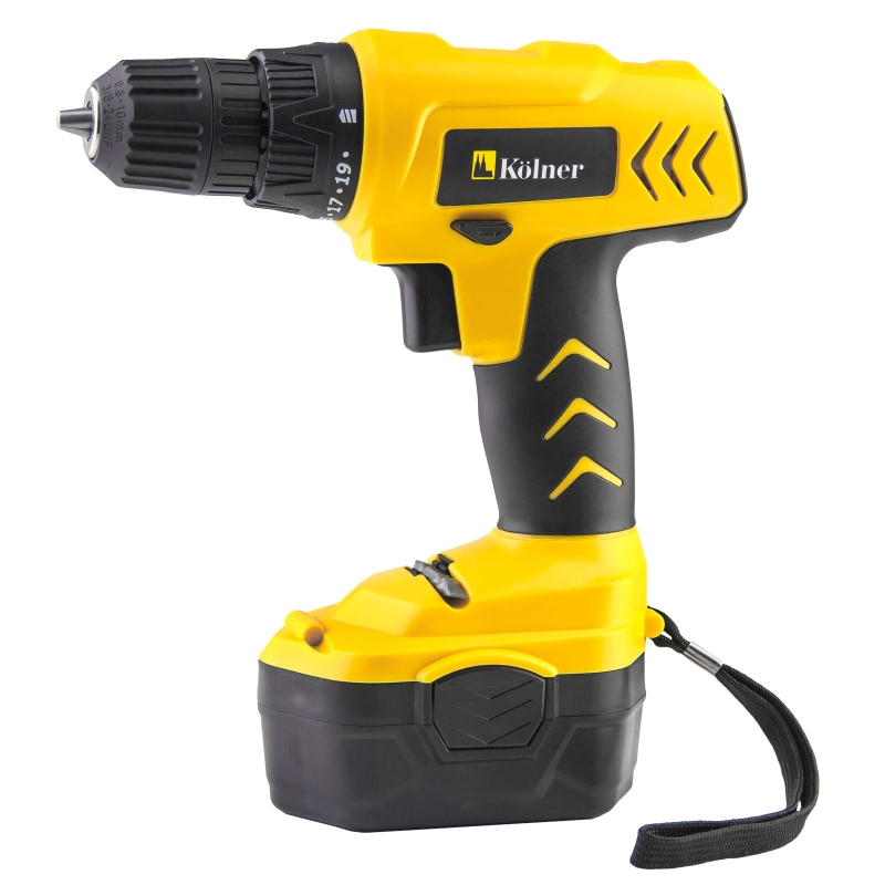 Drill electric screwdriver rechargeable Kolner KCD 14,4MA (no load speed from 0 to 550 rev/min, reverse the case) cordless drill screwdriver kolner kcd 10 8l
