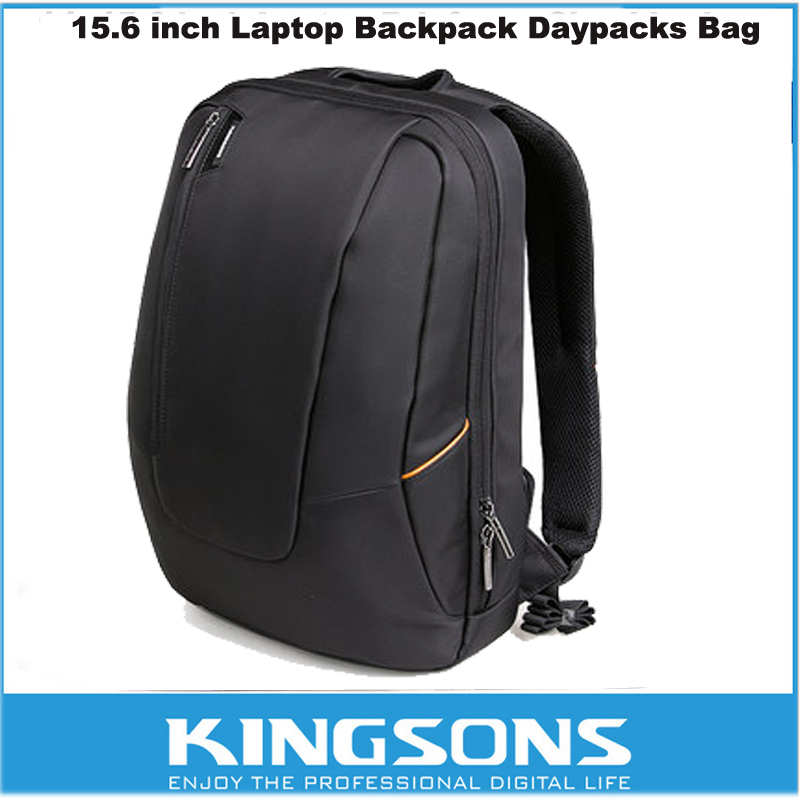 Kingsons Brand 15.6 Large Nylon Waterproof Multi-Compartment Backpack Business Travel Backpack Laptop Notebook Computer Bag