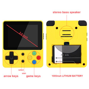 Image 5 - CoolBaby LDK children mini boy video handheld game players console retro video game console for Child Nostalgic Player Tetris