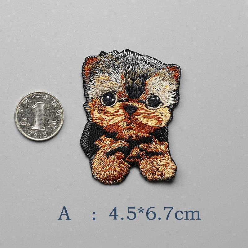 1 PCS Modelet e Kafshëve Cute Cute Patch Me Madhësi të Vogël Qen - Arte, zanate dhe qepje - Foto 4