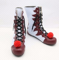 Stephen King S It Cosplay Shoes Carnival Joker Halloween Anime Boots High Quality Custom Made