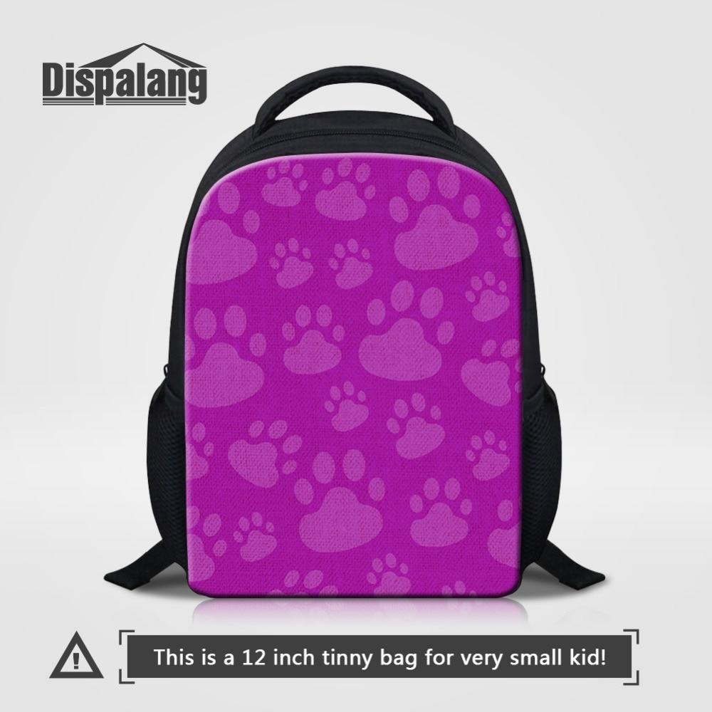 Dispalang Обувь для девочек мини школьная сумка свет Вес небольшой рюкзак кошка лапой пе ...