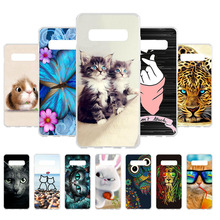 все цены на Soft TPU Case For Samsung Galaxy S10 Plus Case Cover for Fundas Samsung S10 Plus Case Silicone Back Shell Mobile Phone Bumper
