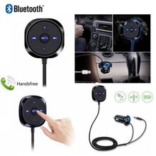 цена на Bluetooth v2.1 Handsfree Audio Music Receiver 3.5mm Adapter Car Kit AUX USB Charger Wireless Adapter