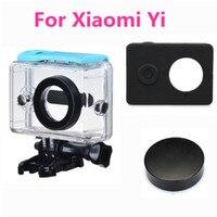 Xiaomi Yi Waterproof Case Mi Yi 40M Diving Sports Action Camera Lens Cap Silicone Case Waterproof