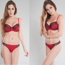 New Women Bra Set Sexy Lace Lingerie Underwear Bralette  Plus Size B-E