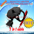 Free shipping volcano 7 in 1 cable set for volcano box p05a,p12c,p12b,p08a