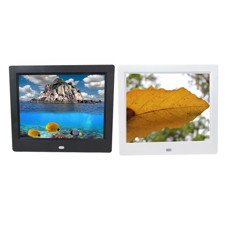 8 inch LCD Screen LED Backlight HD 800*600 Screen Digital Photo Frame Electronic Album Picture Frame MP3/MP4 Nice Gift Wedding g084sn05 v 1 8 4 inch 800 600 lcd display screen g084sn05 v1