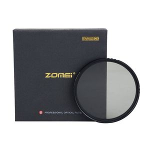Image 4 - ZOMEI Slim ABS Fader ND2 400 Adjustable filter Neutral Density ND2 to ND400 for DSLR Camera Canon Nikon 49/52/58/67/72/77/82mm