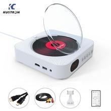 נגן וידאו ביתי אודיו בית Boombox HD וידאו עם שלט רחוק רדיו FM מובנית HiFi רמקולים USB