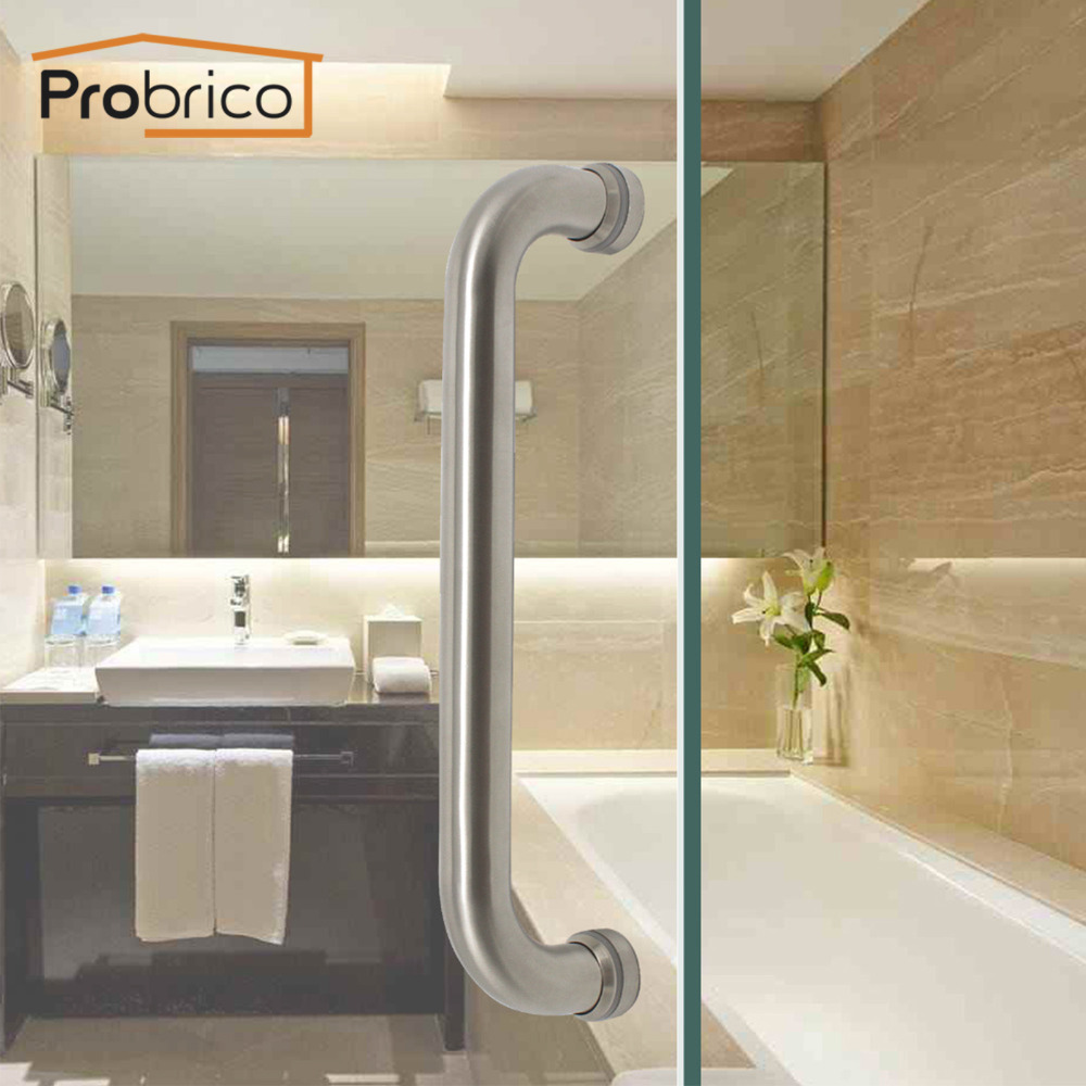 Probrico Grab Bar Thick Wire Shape Stainless Steel Hollow Door Handle 11 Cupboard Modern ...
