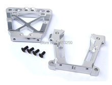 CNC metal rear bulk head set for 1 5 RC HPI BAJA Rovan King Motor 5B