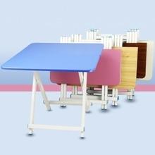Складной обеденный стол переносной стол для пикника на открытом воздухе портативный простой обеденный стол