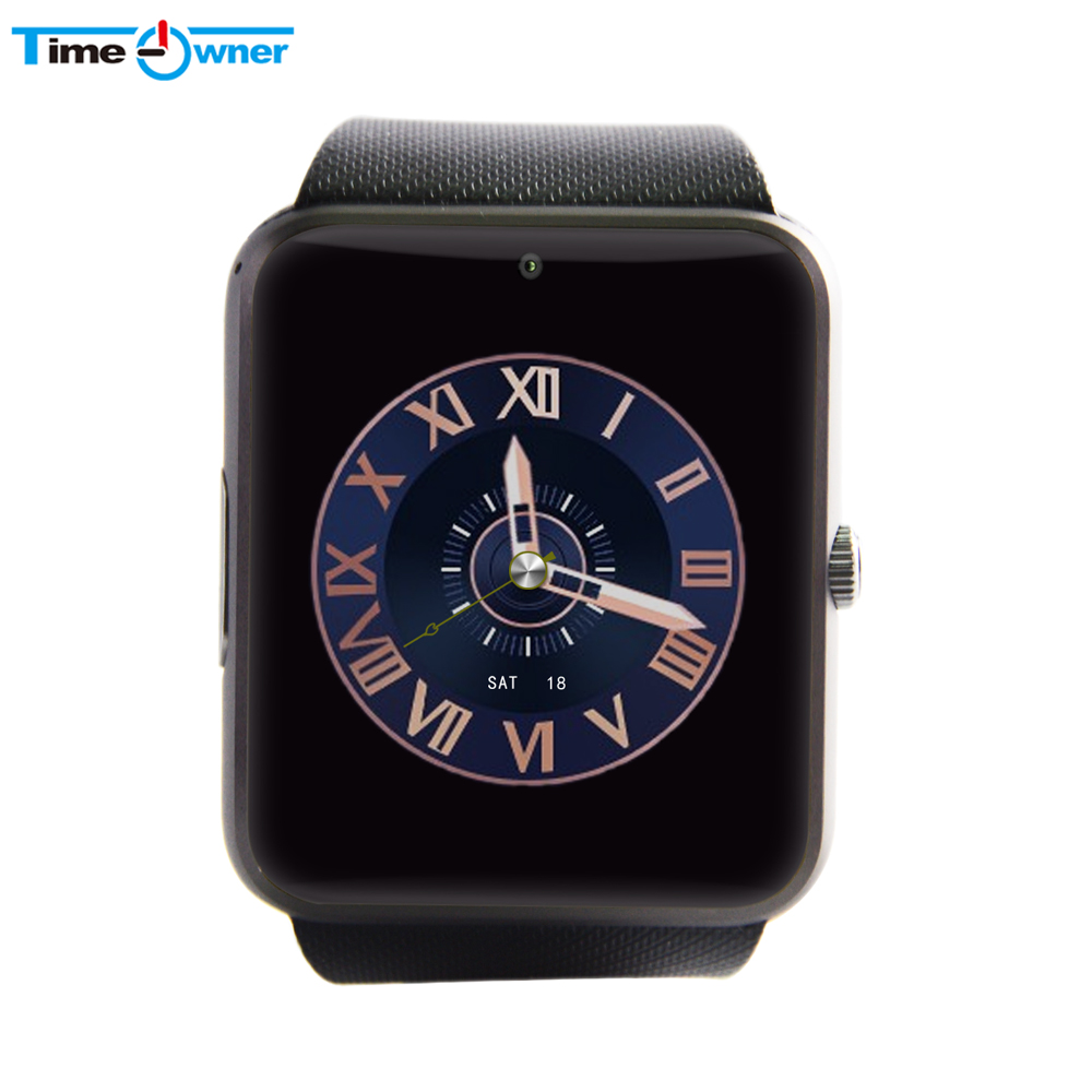 imágenes para GT08 TimeOwner reloj Inteligente SmartWatch para Android Samsung Rastreador De Fitness Desgaste Inteligente Reloj Bluetooth de Regalo Paquete de la Caja Al Por Menor