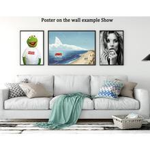Jurassic World Chris Pratt Dinosaur Monster Poster Art Silk Light Canvas Home Room Wall Printing
