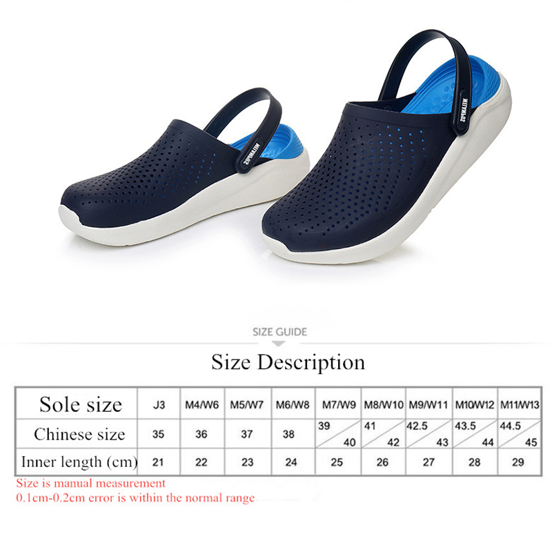 Lizeruee Summer Soft Slippers For Women EVA Clogs Mules Unisex Beach Slippers Casual Shoes Sports Mules Garden Clogs Wholesale 4