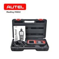 Autel MaxiDiag Elite MD802 Full System Automobile Code Reader OBDII Scanner OBD 2 Car Diagnostic Tool Better than ELM327