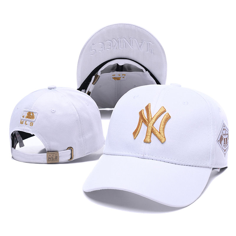 Blue Baseball Caps Summer 2019 Brand New Casual Mens Hat NY Letter Print for Unisex Women and Men Hats Baseball Cap Snapback(China)