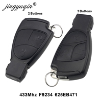 jingyuqin 433Mhz 2/3 Buttons Remote Key Fob For Mercedes Benz B C E ML S CLK CL 3B 3BT Complte Control circuit Board