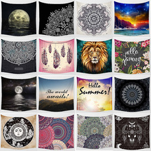 Hot sale mixture styles tapestries wall hanging tapestry home decoration tapiz pared 1500mm*1500mm