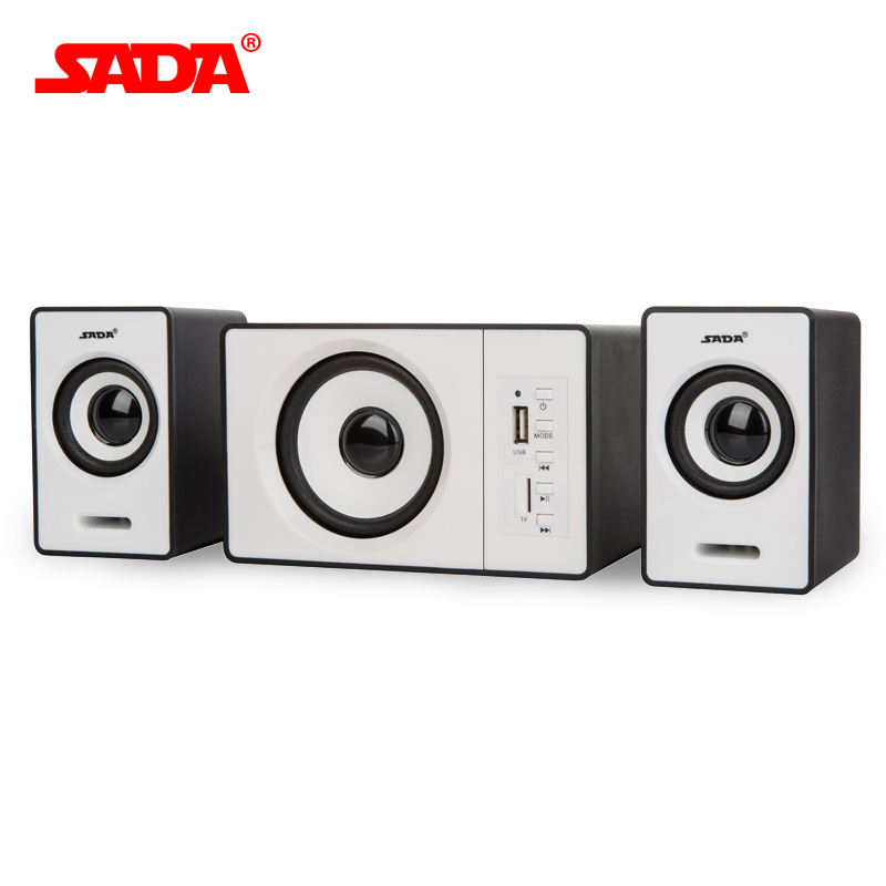 SADA New TF Bluetooth combination speaker notebook desktop computer active audio USB small subwoofer For Free Shipping