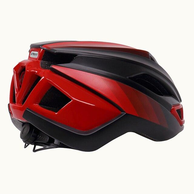 X-tiger luz ciclismo capacete da bicicleta ultraleve capacete intergralmente moldado mountain road bicicleta mtb capacete seguro das mulheres dos homens 3