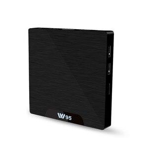 Image 1 - W95 قمة مجموعة مربع 2/8G العلامة التجارية جديد شبكة لاعب حار الذكية التلفزيون صندوق أندرويد