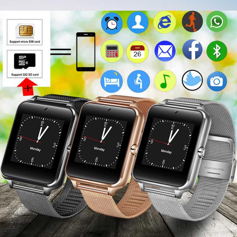 الرجال النساء بلوتوث ساعة ذكية الرياضة مقياس الخطو Smartwatch مع كاميرا دعم سيم بطاقة ال Whatsapp الفيسبوك لالروبوت الهاتف
