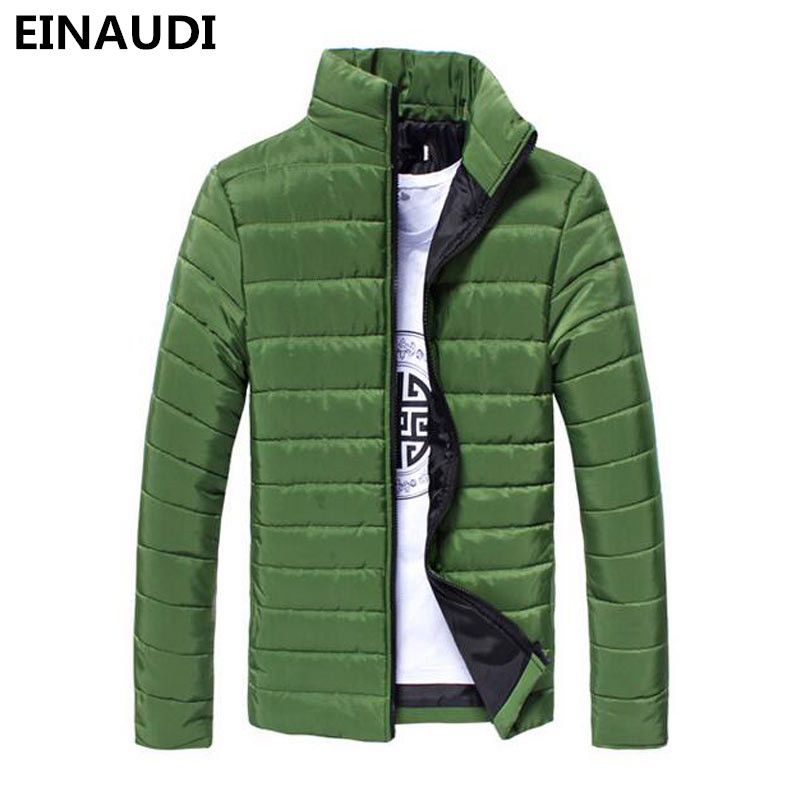 EINAUDI 2017 Ultra Light Men Winter Jacket Men's Cotton Jacket Coats Casual Thin Outwear Men Jaqueta Masculina Campera Hombre