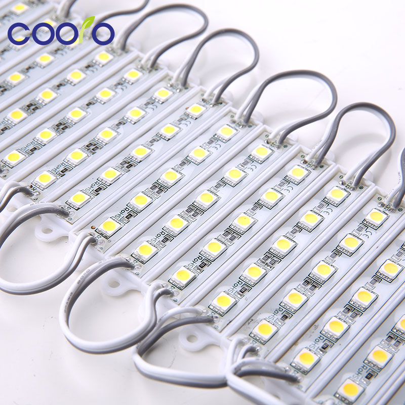 20PCS 5050 5 LED Module lighting DC12V Waterproof led modules,White / Warm white / Red / Green / Blue color,20PCS/lot 20pcs lot std5nm60t4 std5nm60
