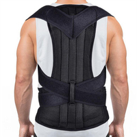 Adjustable Back Straightener Posture Corrector Comfortable Posture Trainer for Spinal Alignment & Posture Support Back Pain Belt