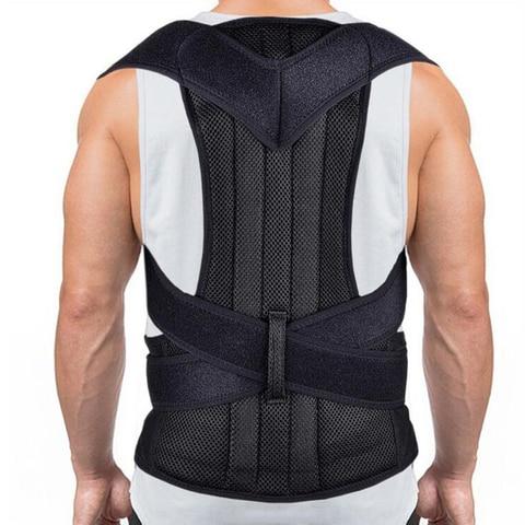 postura corrector ajustavel voltar straightener postura confortavel trainer para o alinhamento da coluna vertebral apoio