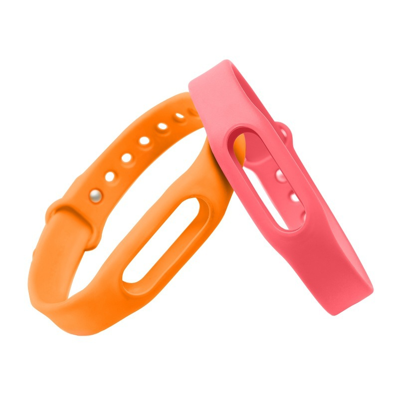 2016 Xiaomi Mi band Smart Wristband Silicone Replace Belt Strap Mi Band Bracelet Replacement Band Accessories
