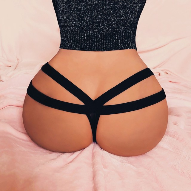sexy bandage g string thongs women panties Sexy Lingerie Mesh G-string Briefs Underwear Panties seamless lingerie knickers##